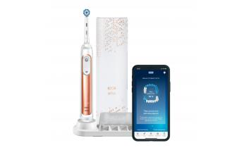 Electric toothbrush Braun Oral-B Genius X Sensi 20000N, rose gold,  D706.515.6X