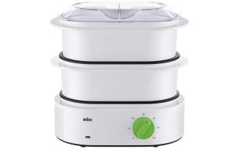 Steam cooker Braun FS3000WH, white