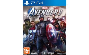 Game for Sony PS4 Marvel Avengers, russian version