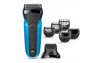 Electric Shaver Braun Series 3 Shaver&Style 310bt + Trimmer Attachment and 5 combs