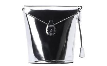 Сумка женская Calvin Klein, серебристая, K60K605856
