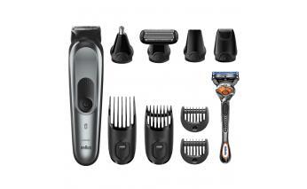 Styling trimmer Braun MGK7221 + Gillette razor