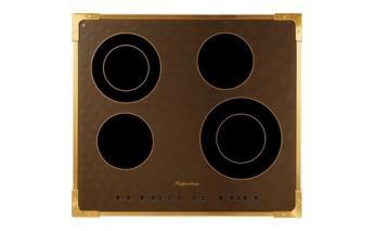 Панель варочная электрическая Kuppersberg FA6RC Bronze